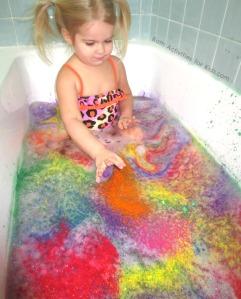 Color splash bath 04
