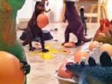 Dinovember: When Plastic Dinosaurs Come toLife