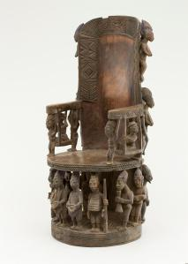 Throne front