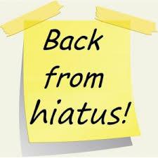 Backfromhiatus