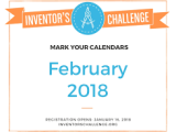 Inventor's Challenge: Cure Those January Blues