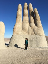 Giant Hands in the Desert: Inspiration for Geographic Creativity