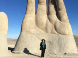 Giant Hands in the Desert: Inspiration for GeographicCreativity